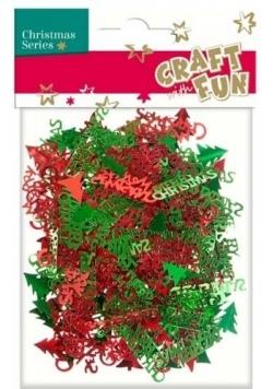 Ozdoba dekoracyjna konfetti choinka 20g