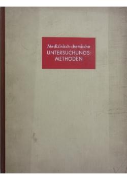 Untersuchungs Methoden, 1935r.