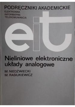 Nieliniowe elektroniczne układy analogowe