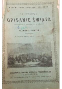 Stopniowe opisanie świata,1884 r.