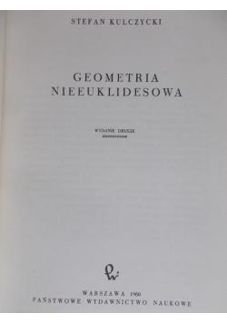 Geometria nieeuklidesowa