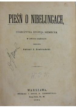 Pieśń o Nibelungach, 1881 r.