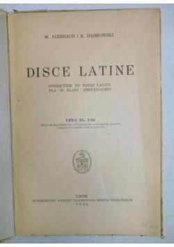 Disce Latine IV , 1937