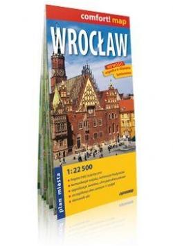 Comfort!map Wrocław 1:22 500 plan miasta