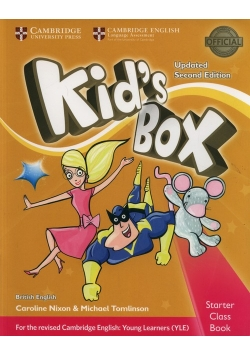 Kid's Box Starter Class Book + CD
