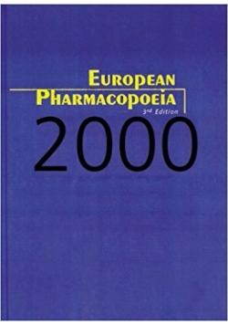 European Pharmacopoeia: 2000 Supplement, 3rd Edition