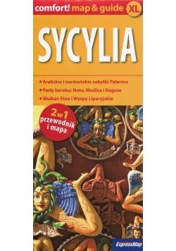 Sycylia 2w1 przewodnik i mapa