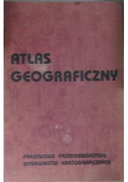 Atlas Geograficzny Państwowe przedsiębiorstwo