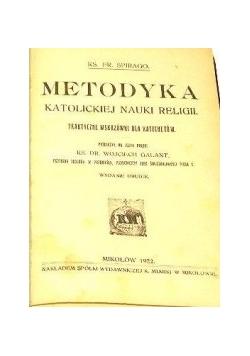 Metodyka katolickiej nauki religii, 1922 r.