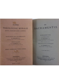 Summa theologiae moralis/ De sacramentis