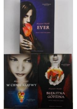 W cieniu klątwy/Ever/Błękitna godzina, zestaw 3 książek