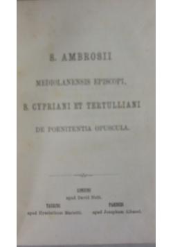 Sanctorum Patrum VII, 1869 r.