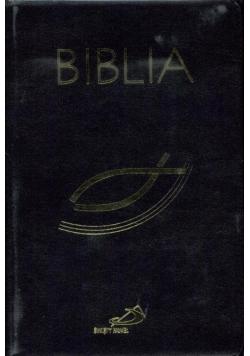 Biblia z rybką z suwakiem czarna
