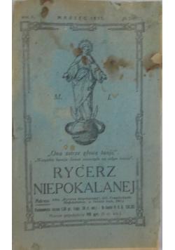 Rycerz Niepokalanej - Marzec 1931r.