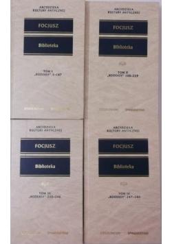 Biblioteka, Kodeksy 1-280, Tomy I-IV