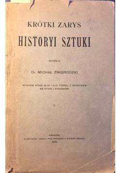Krótki zarys historyi sztuki I, 1908 r.