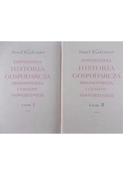 Powszechna historia gospodarcza średniowiecza i czasów nowożytnych, Tom I - II