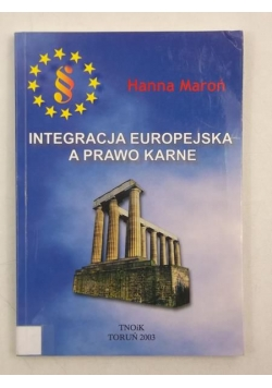 Integracja europejska a prawo karne