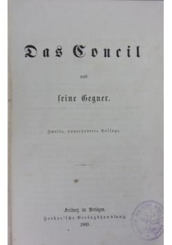 Das Dokumenische Concil, Tom I, 1869r.