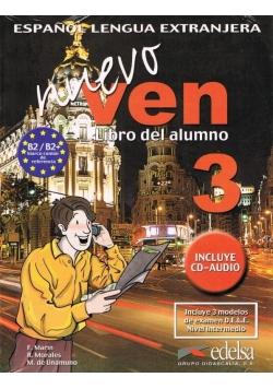 Nuevo Ven 3 podręcznik EDELSA