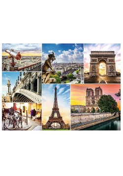 Puzzle 3000 Magia Paryża Kolaż TREFL