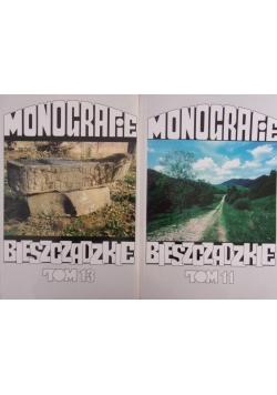 Monografie bieszczadzkie, tom 11 i 13