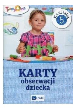Trampolina. Karty obserwacji dziecka 5-latek PWN