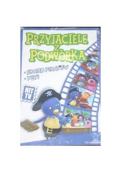 Przyjaciele z podwórka. Skarb piratów, Yeti. DVD
