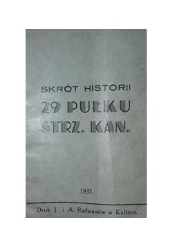 29 pułku strz. kan. , 1937 r.