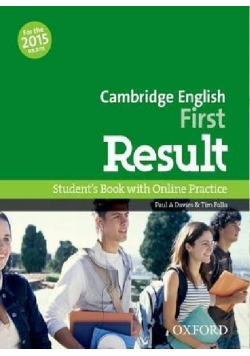 Cambridge English First Result SB