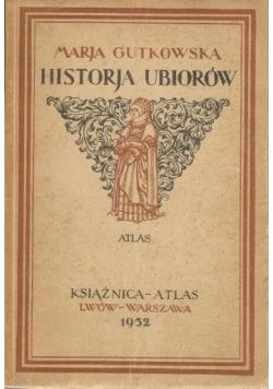 Historia ubiorów, atlas, 1932 r.