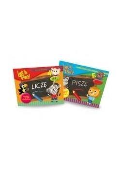 Pakiet: Let`s play: Liczę / Piszę 4-6 lat
