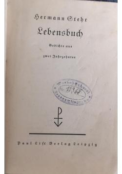 Lebensbuch, 1934 r.
