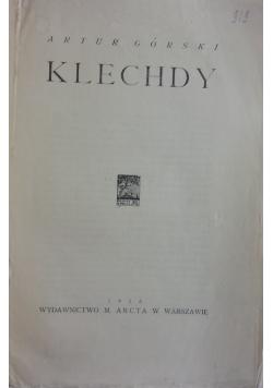 Klechdy, 1925 r.