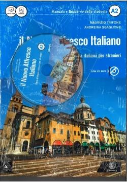 Nuovo Affresco Italiano A2 Podręcznik + CD mp3