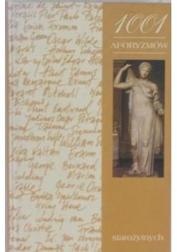 1001 aforyzmów starożytnych