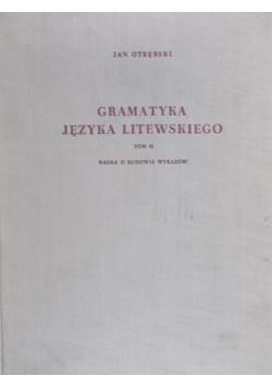 Gramatyka historyczna języka łacińskiego, część II. Składnia