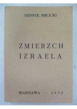 Zmierzch Izraela, przedruk z 1932 r.