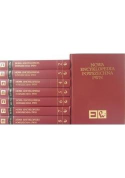 Nowa Encyklopedia Powszechna PWN, tom I-VIII, komplet