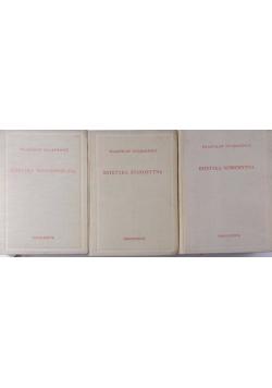 Estetyka starożytna / Estetyka średniowieczna / Estetyka nowożytna, 3 tomy