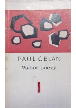 Paul Celan, wybór poezji