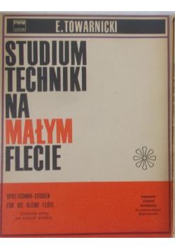 Studium techniki na małym flecie, 2 książki
