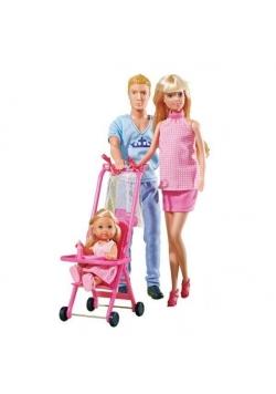 Steffi z rodziną