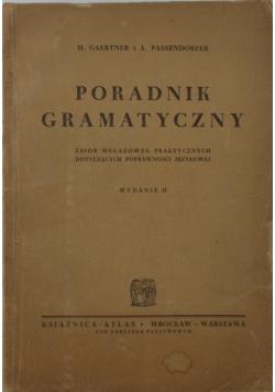 Poradnik gramatyczny, 1949 r.