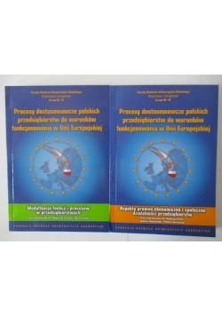 Procesy dostosowawcze polskich przedsiębiorstw do warunkó funkcjonowania w Unii Europejskiej, 2 tomy