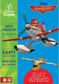 Disney English. Samoloty 2 Ćw. karty+naklejki