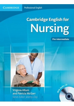 Cambridge English for Nursing Pre-intermediate + CD