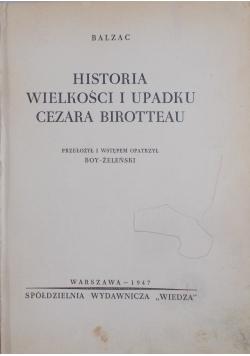 Historia wielkości i upadku Cezara Birrotteau