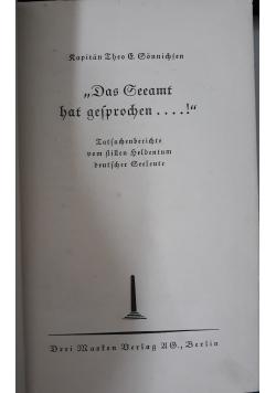 Das Gesamt hat gesprochen...,1938 r.