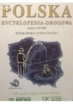Polska encyklopedia - drogowa skala 1 : 95 000